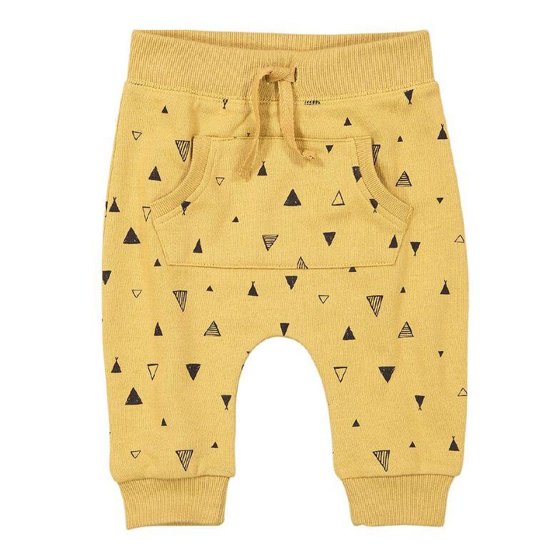 Young Original Baby Kanga Trackpants, Brown Mid, hi-res