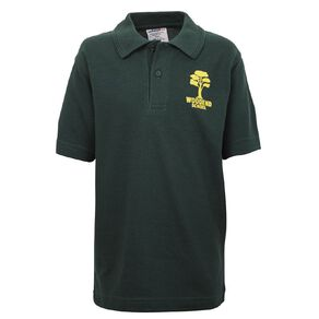 Schooltex Woodend Short Sleeve Polo with Transfer