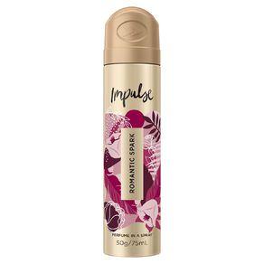 Impulse Body Spray Romantic Spark 75ml