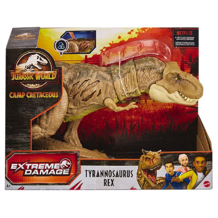 Jurassic World Extreme Damage T-Rex, , hi-res