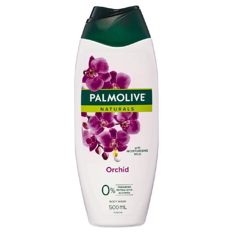 Palmolive Naturals Body Wash Milk & Orchid 500ml, , hi-res
