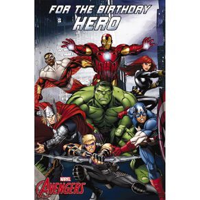 John Sands Juvenile Non Age Card Juv Boy Disney Avengers