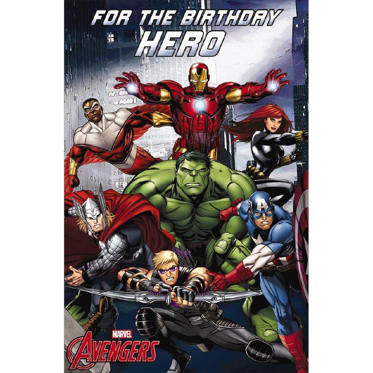 John Sands Juvenile Non Age Card Juv Boy Disney Avengers, , hi-res