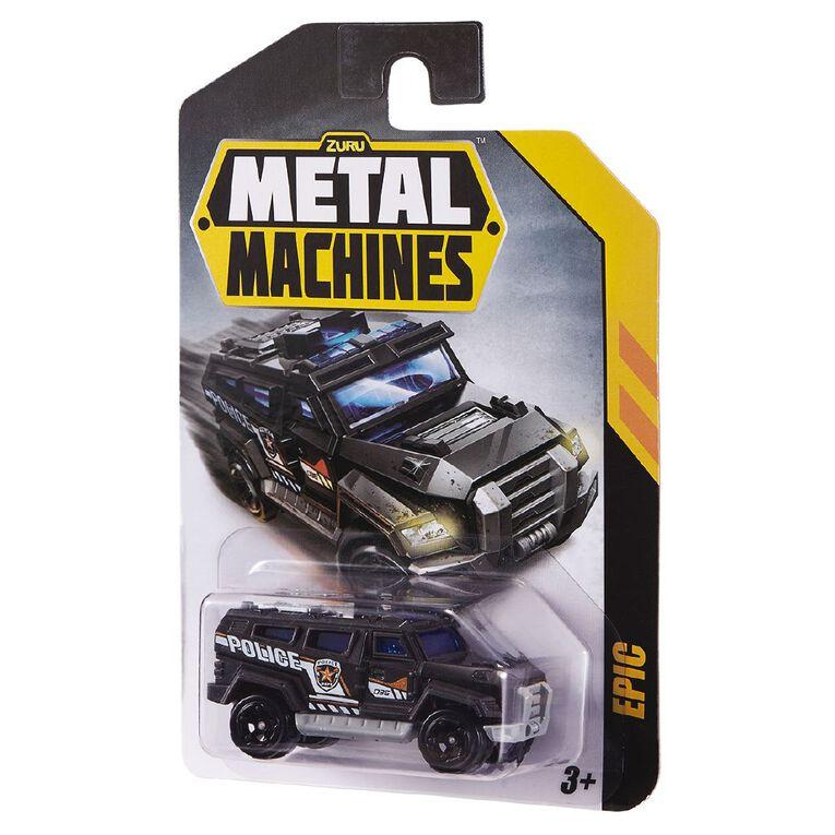 Zuru Metal Machines Cars Single Pack Assorted, , hi-res