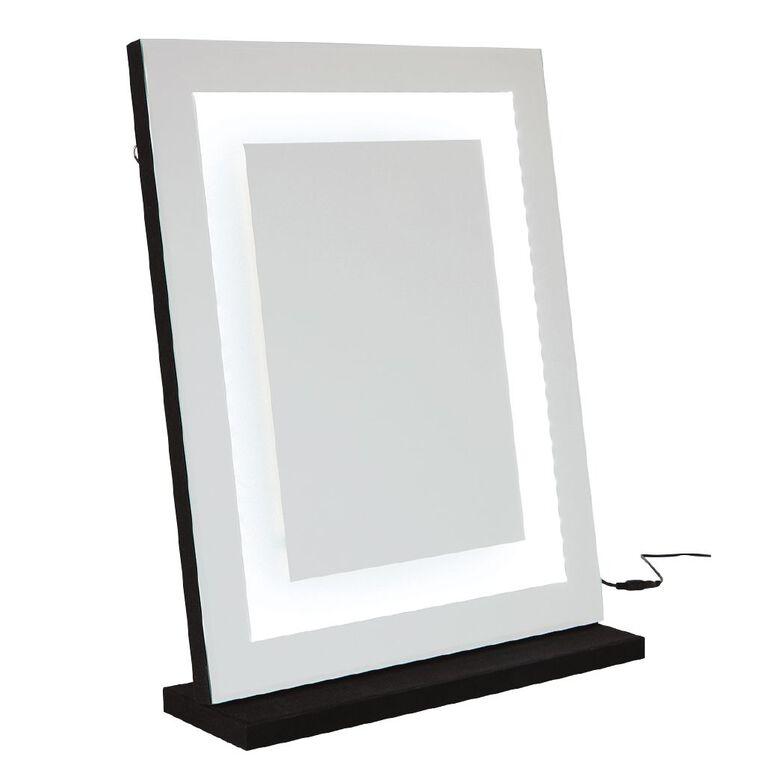 Living & Co Hollywood Mirror Black 40cm x 50cm, , hi-res image number null