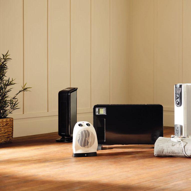 Living & Co Oil Heater 5 Fin Pure White 1000w, , hi-res