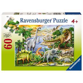 Ravensburger Prehistoric Life Puzzle 60 Piece