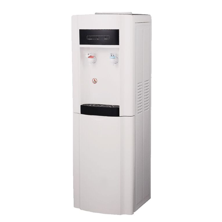 Azure Floor Standing Water Cooler Hot and Cold White, , hi-res