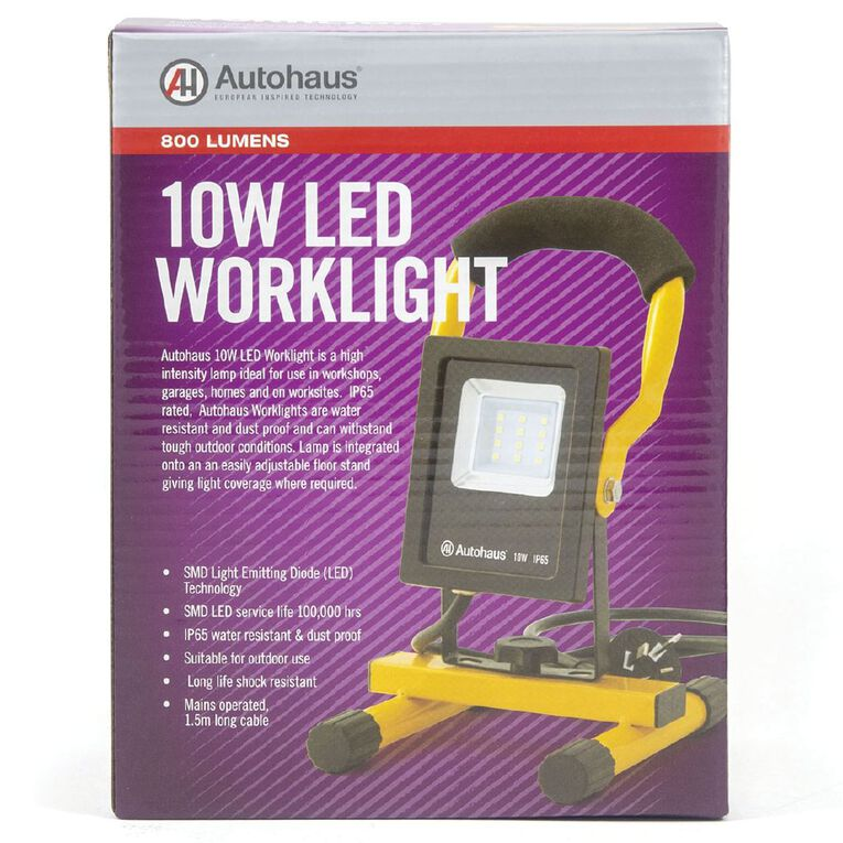 Autohaus LED Worklight Mains Powered 10W, , hi-res