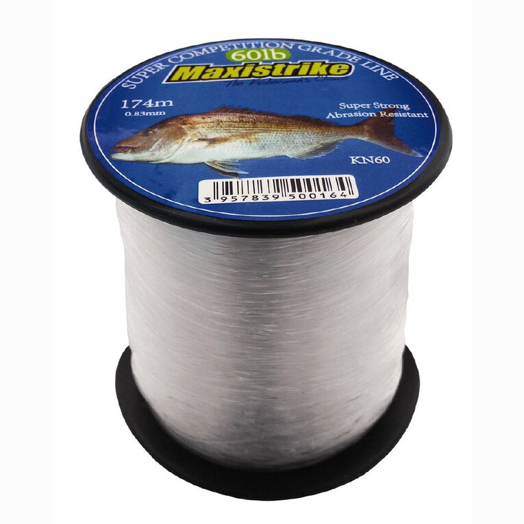 Maxistrike Fishing Nylon 60lb 161 M, , hi-res