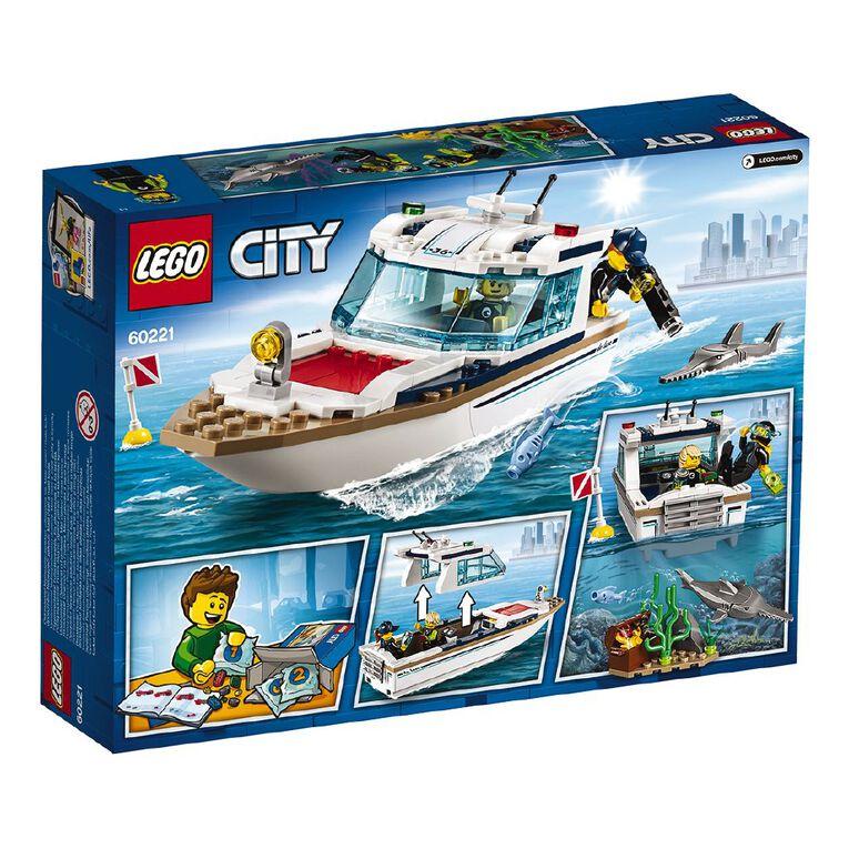 LEGO City Diving Yacht 60221, , hi-res