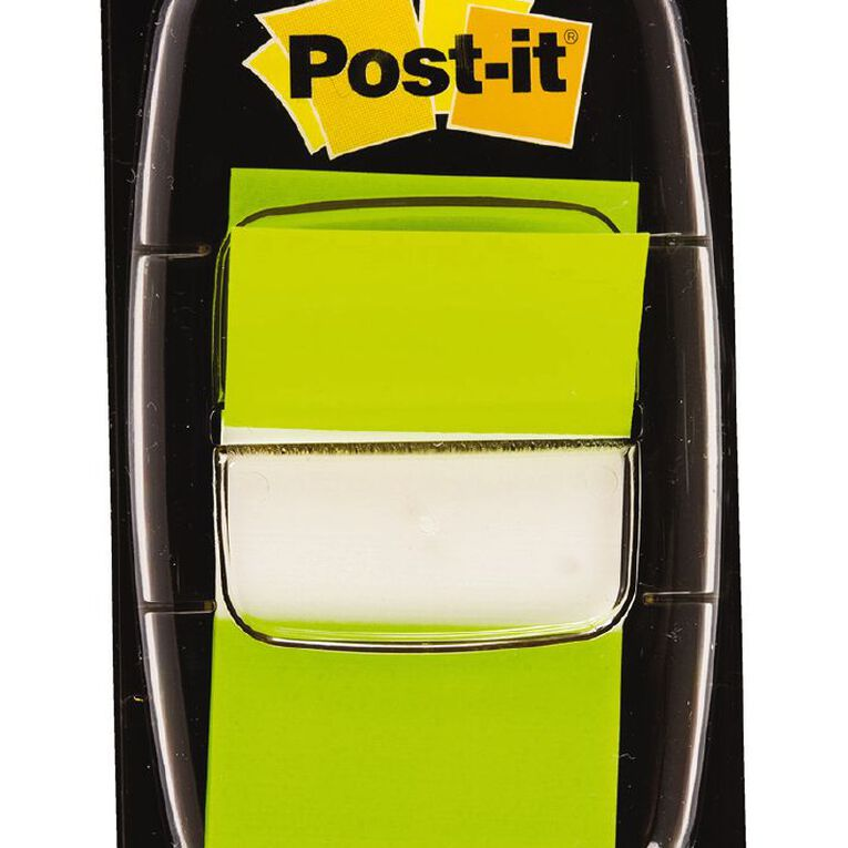 Post-It Flags 2 Pack Bright Green, , hi-res