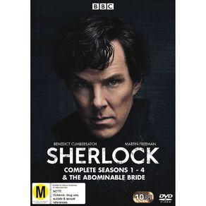 Sherlock Season 1 - 4  DVD 10Disc