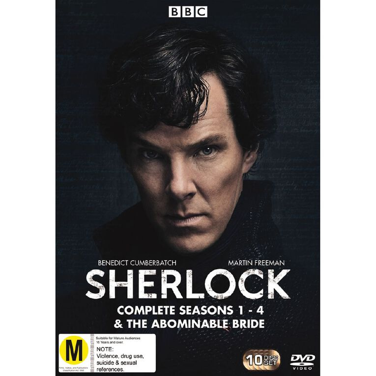 Sherlock Season 1 - 4  DVD 10Disc, , hi-res