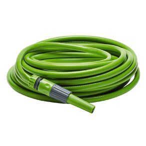 Kiwi Garden Fitted Hose Green 15m