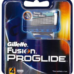 Gillette Fusion ProGlide Razor Cartridge 4 Pack
