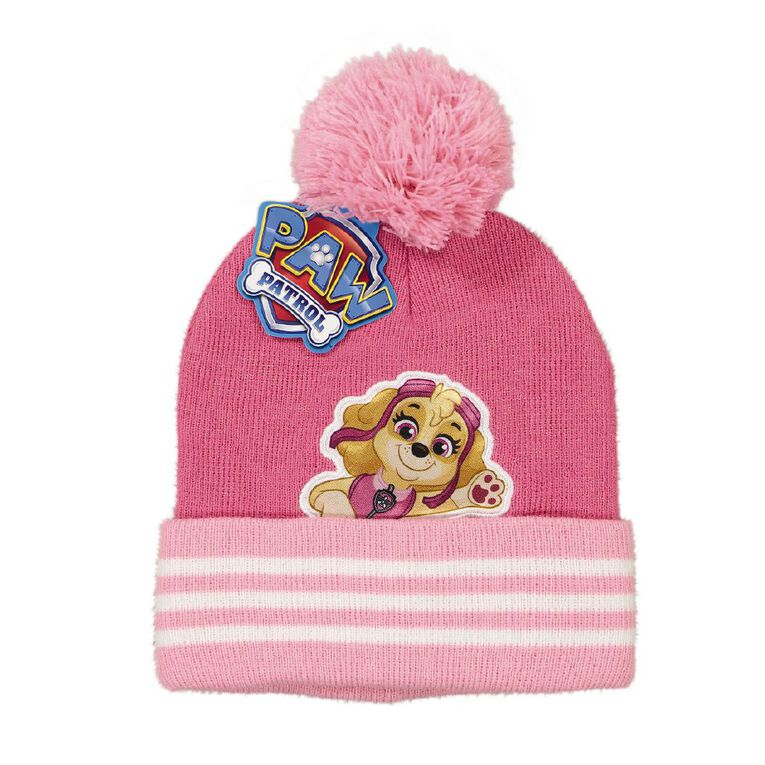 Paw Patrol Kids' Paw Patrol Beanies, Pink, hi-res