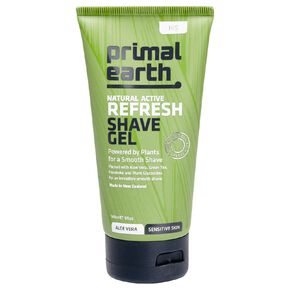 Primal Earth Refresh Shave Gel 140ml