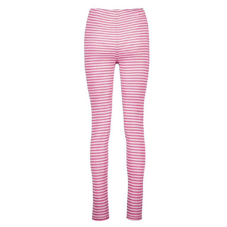 H&H Women's Polyester Viscose Long John Thermal, Pink, hi-res image number null