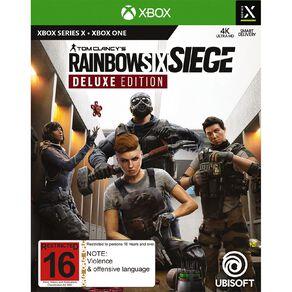 Xbox Series X Rainbow Six Siege Deluxe Edition