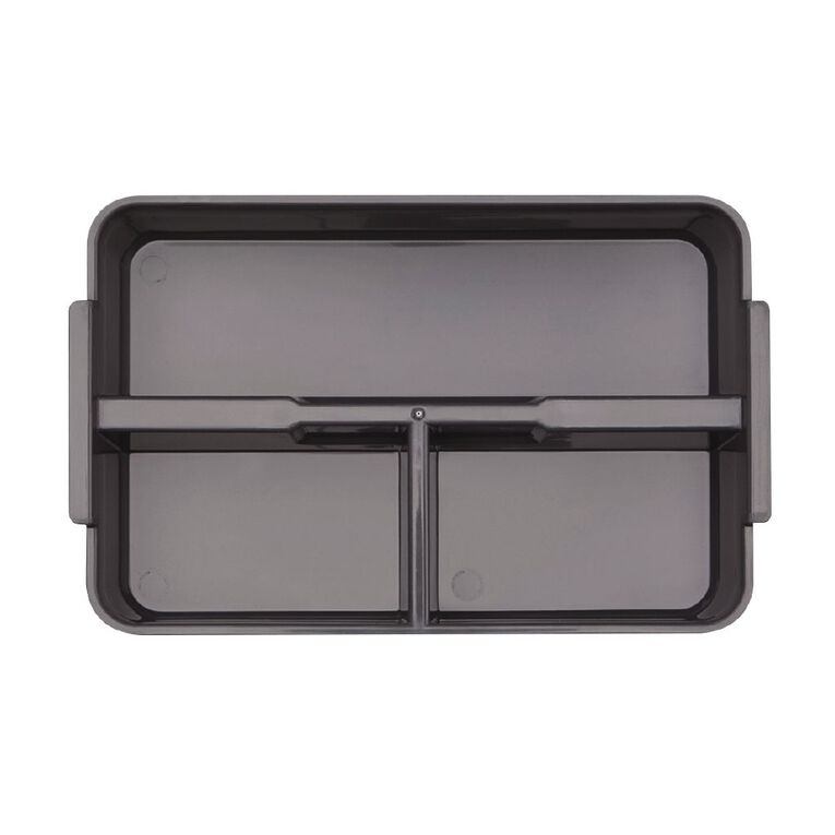 Living & Co Storage Container with Tray Insert Clear 3L, , hi-res