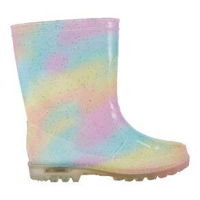 Young Original Rainbow Light Up Gumboots