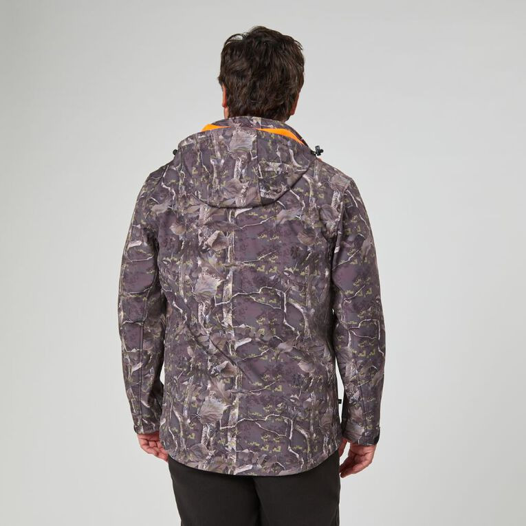 Back Country Soft Shell Hooded Jacket, Black, hi-res