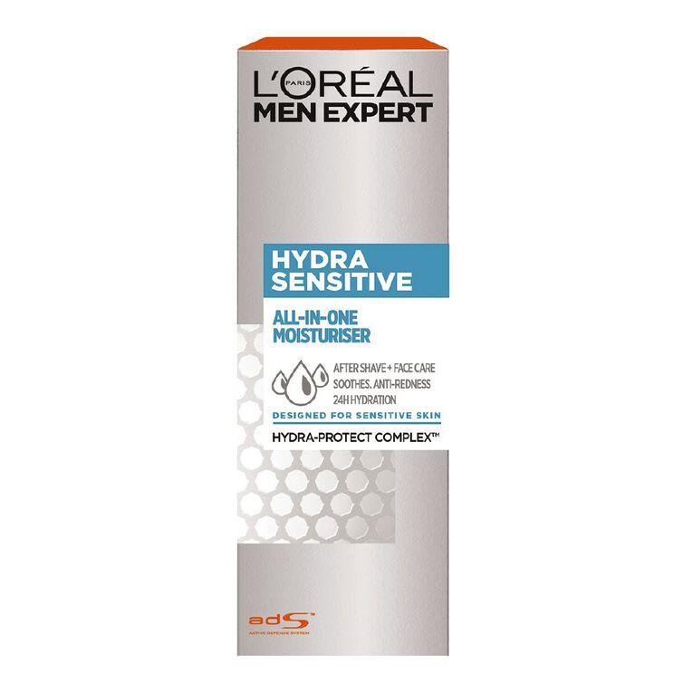 L'Oreal Paris Men Expert All-in-1 Moisturiser Sensitive 75ml, , hi-res