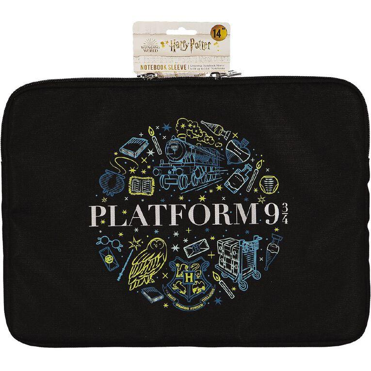 Harry Potter 14 inch Notebook Sleeve Blue, , hi-res
