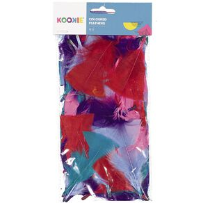 Kookie Feathers Multi-Coloured 12G