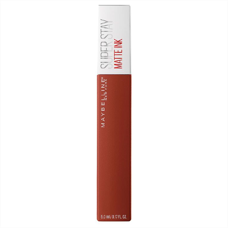 Maybelline SuperStay Matte Ink Liquid Lipstick Ground-breaker 117, , hi-res