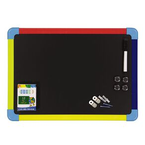 WS Magnetic Whiteboard/Blackboard A3