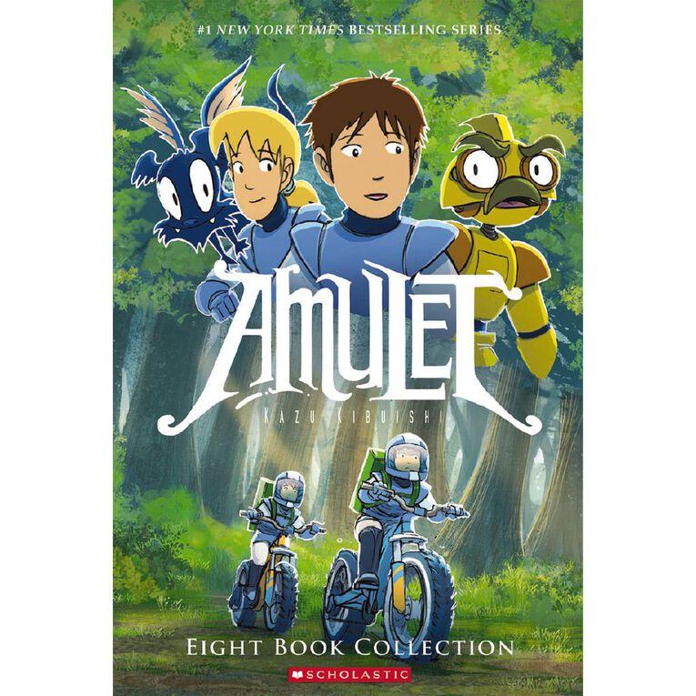 Amulet Eight Book Collection by Kazu Kibuishi, , hi-res