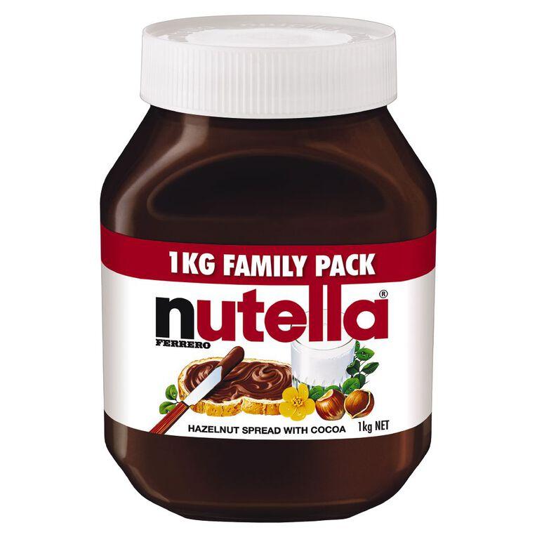 Nutella Family Pack 1kg, , hi-res