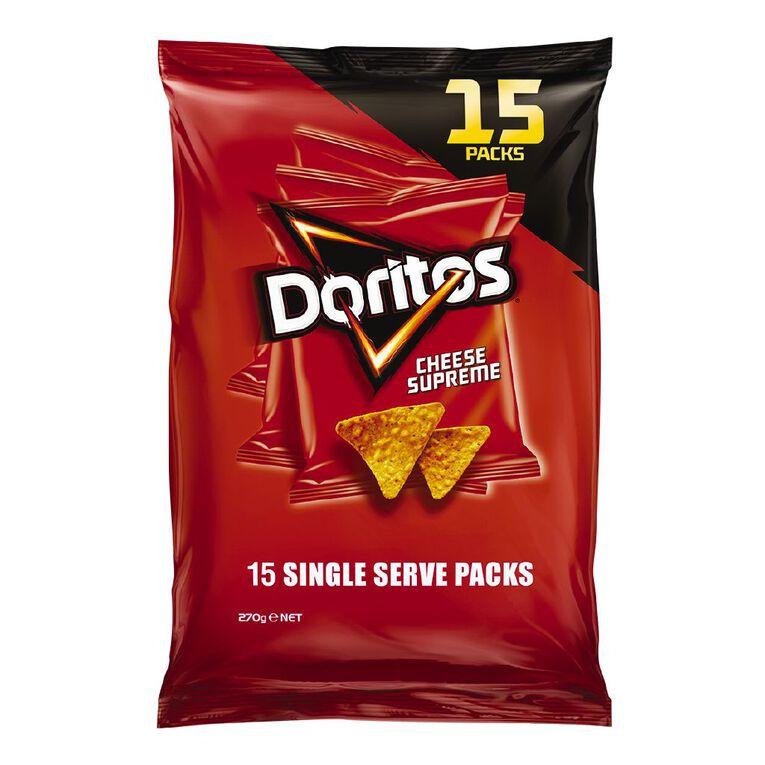 Doritos Cheese Supreme 15 Pack, , hi-res