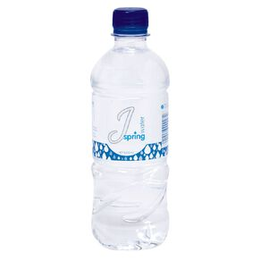 J Still Spring Water Bottle 500ml