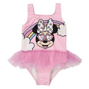 Minnie Mouse Young Original Girls' Tutu One Piece Swimsuit