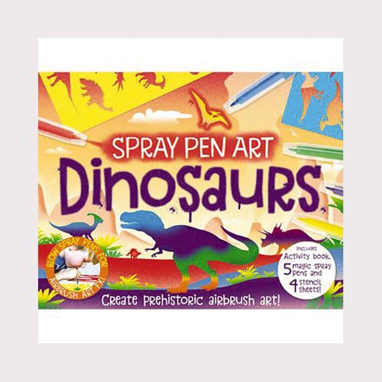 Activity Station: Spray Pen Art Dinosaurs, , hi-res