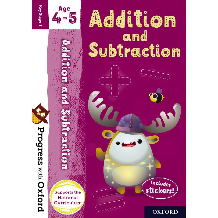Addition and Subtraction Age 4-5 by Oxford University Press, , hi-res