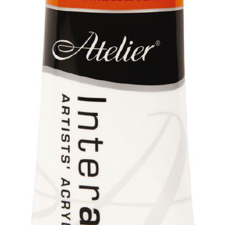 Atelier S4 80ml Cadmium Orange Orange, , hi-res