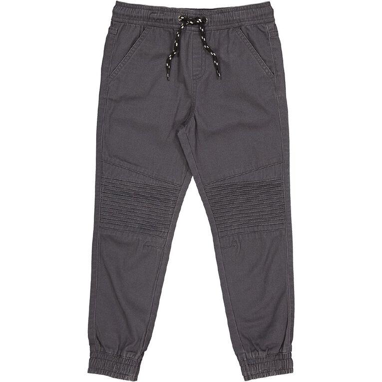 Young Original Pintuck Cuff Chino Pants, Grey Dark, hi-res