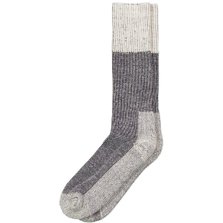 Alpsocks Men's Outdoor Socks, Navy, hi-res