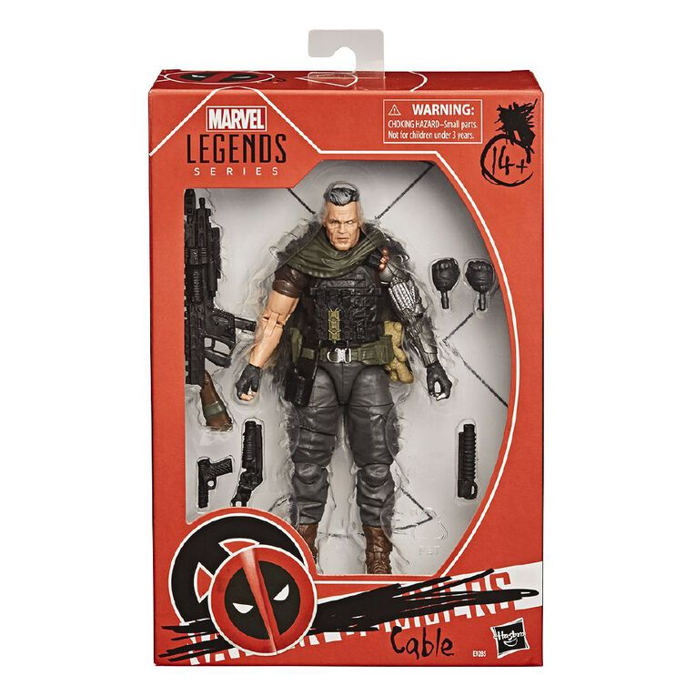 Marvel Legends X-Men Cable, , hi-res
