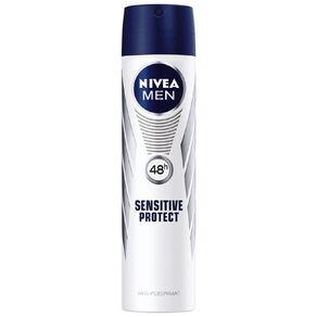 Nivea For Men Deodorant Sensitive Protect Aero 250ml