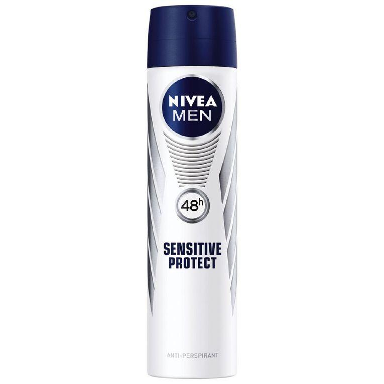 Nivea For Men Deodorant Sensitive Protect Aero 250ml, , hi-res