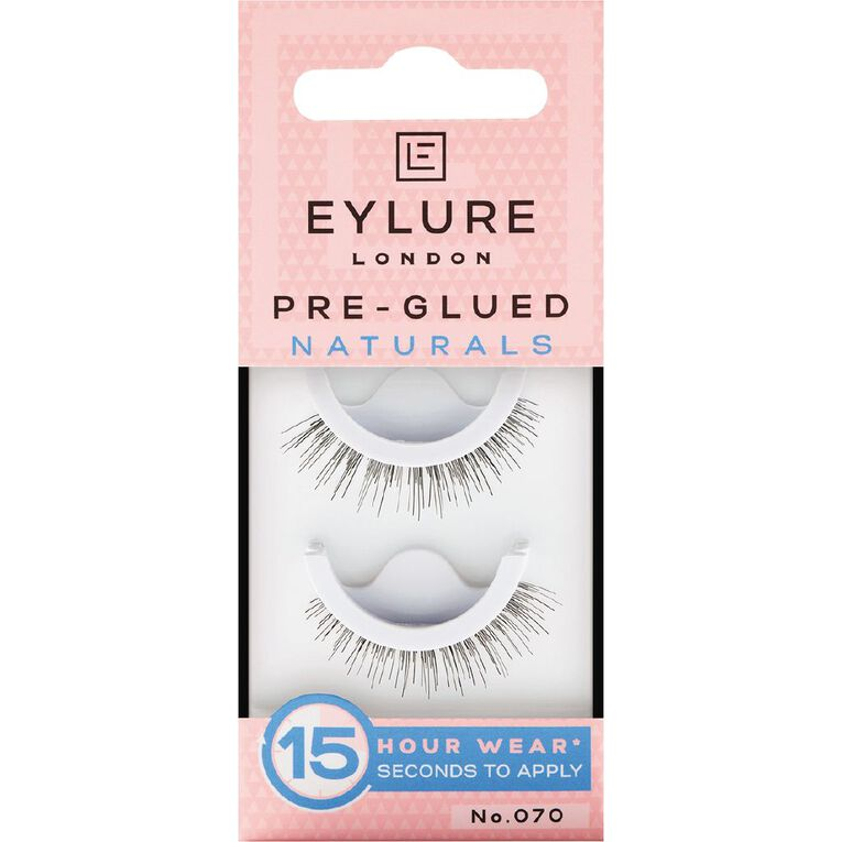 Eylure Pre-Glued Naturals Lashes No. 070, , hi-res