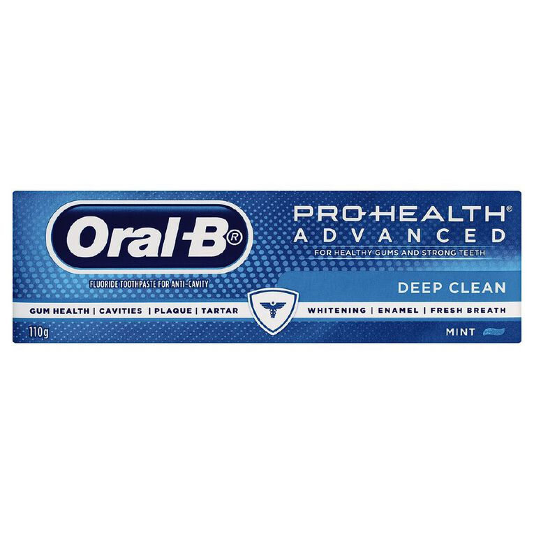 Oral-B Pro-Health Advance Deep Clean Toothpaste 110g, , hi-res image number null