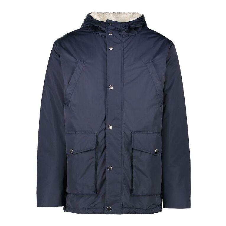 H&H Men's Parker Jacket, Navy, hi-res