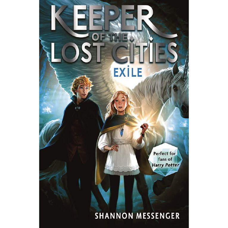 Keeper of the Lost Cities #2 Exile by Shannon Messenger, , hi-res