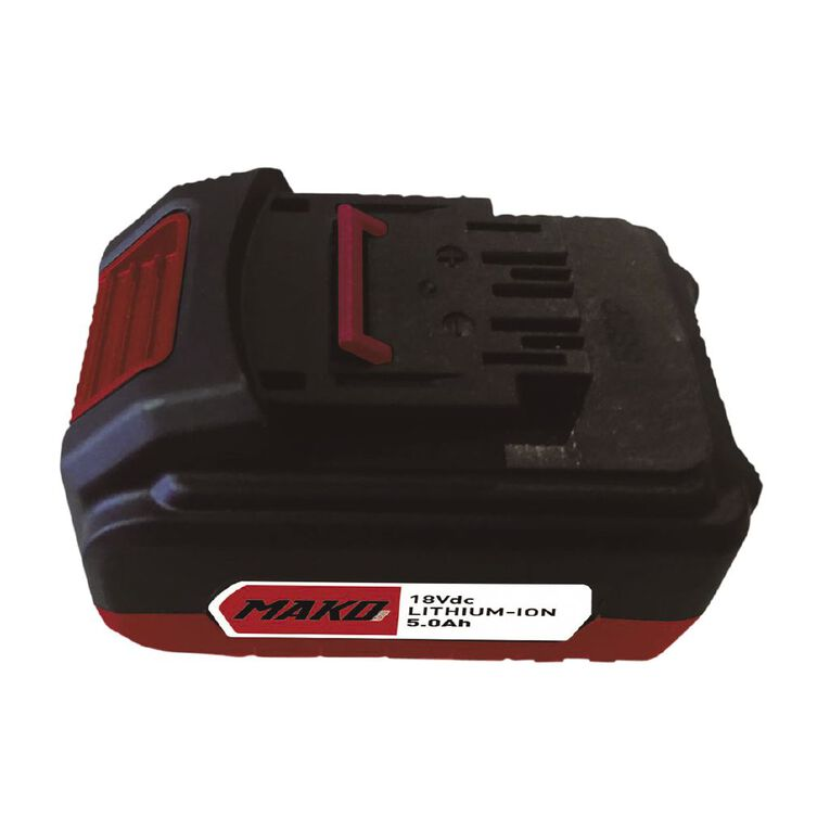 Mako 18V 5.0Ah Li-ion Battery Pack, , hi-res